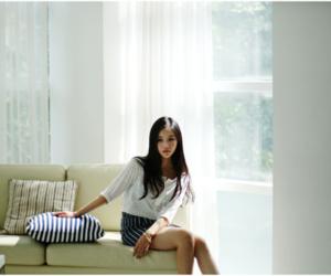 girl, korean, and pretty image