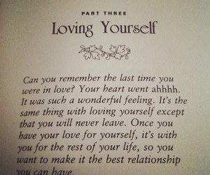 book, in love, and loving yourself image