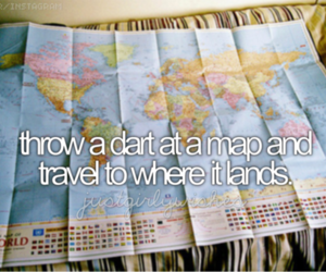 map, travel, and land image