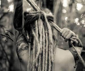 dread, natural, and hair image