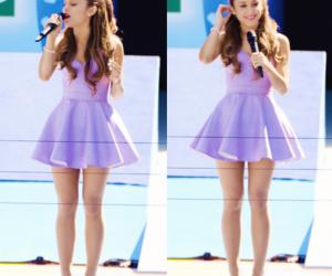 ariana grande, ariana, and purple image