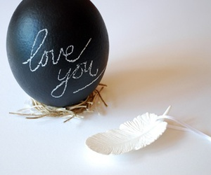 easter, egg, and feather image