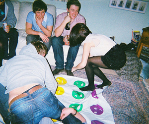 party, friends, and twister image