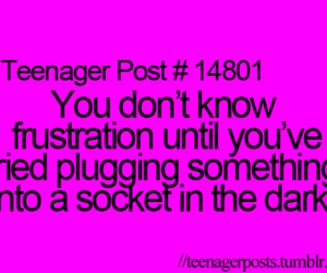 teenager post, funny, and frustration image