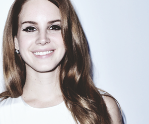 lana del rey, quote, and smile image