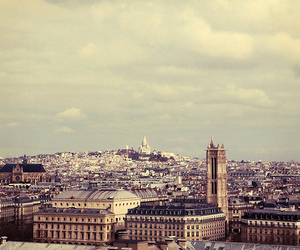 city, france, and photography image