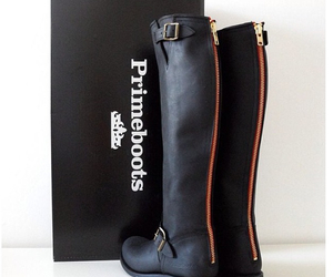 primeboots, fashion, and black image