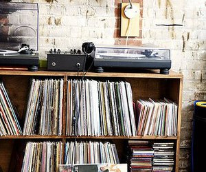 music, record, and vintage image
