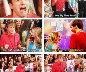fangirling, marvin marvin, and big time rush image