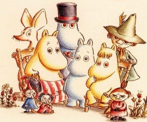 moomin and pic image