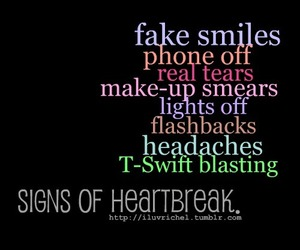 heartbreak, quote, and tears image