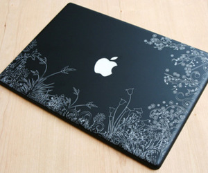 apple, laptop, and mac image