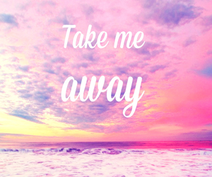 Take me away discovered by Madeline H. Kvam on We Heart It