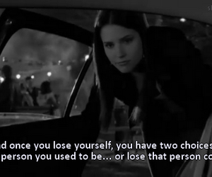 one tree hill, quote, and black and white image
