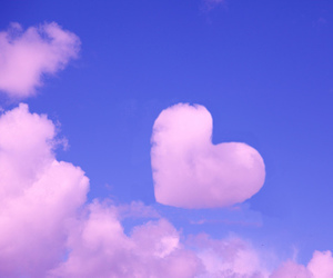 <3, awww, and clouds image