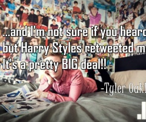 tyler oakley and Harry Styles image