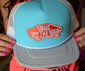 vans, hat, and cool image