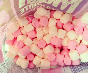 pink, marshmallow, and lovely image