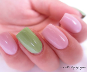 essence, girly, and green image