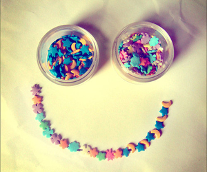 smile, happy, and stars image