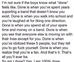 done, one direction, and 1d image