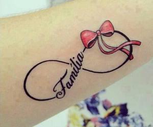 family, tattoo, and infinito image