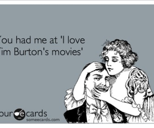 tim burton, movies, and love image