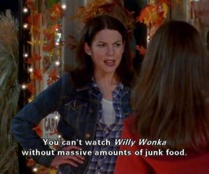 gilmore girls, Willy Wonka, and alexis bledel image
