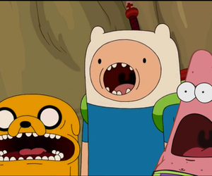 indie, adventure time, and sponje bob image