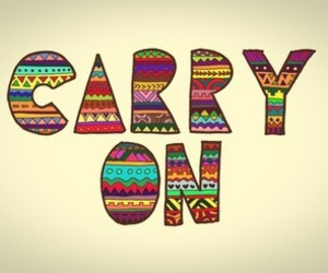carry on, quote, and text image