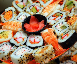 delicious, japanese, and food image