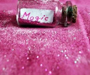 magic, bottle, and glitter image