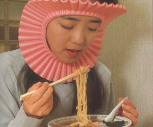 noodles, funny, and asian image