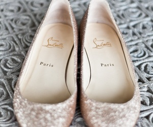 shoes, flats, and paris image
