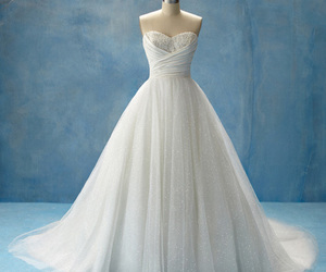 amazing, bridal gown, and disney image