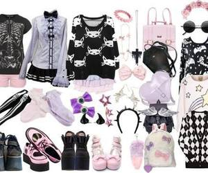 pastel goth, pastel, and clothes image