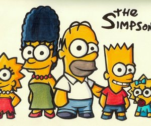 the simpsons, simpsons, and funny image