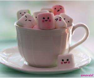 kawaii and marshmallow image