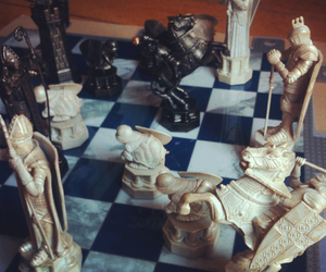chess, harry potter, and wizard image
