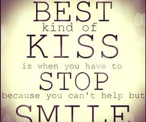 kiss, love, and smile image