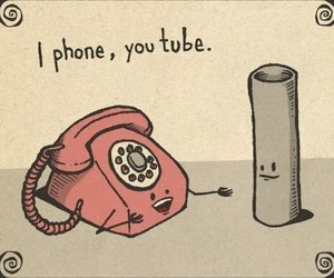 <3, funny, and tube image