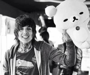 black and white, bring me the horizon, and cute boy image