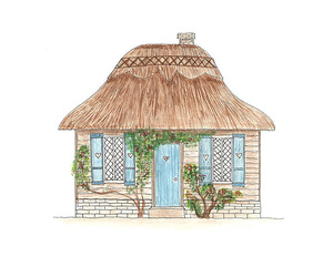 draw, house, and cute image
