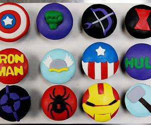 cupcake, Hulk, and Avengers image