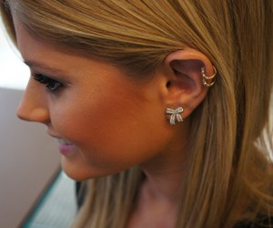 blonde and piercing image