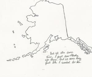 john green, looking for alaska, and map image