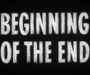 beginning, end, and words image