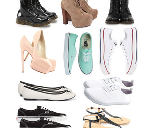 combat boots, converse, and doc martens image