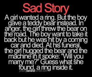 Sad Story discovered by @Blvcklykos on We Heart It