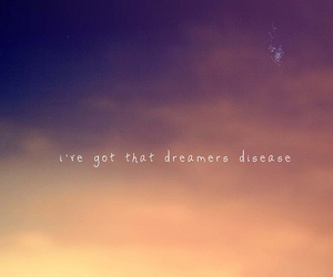 sky, dreamer, and typography image